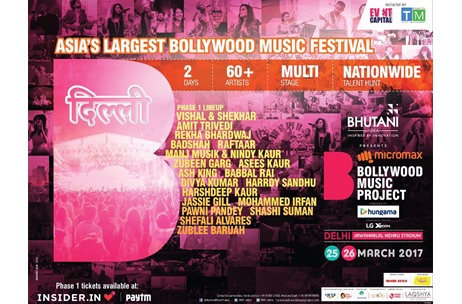 Vishal & Shekhar, Amit Trivedi, Badshah + Others Revealed as First Line-Up for BMP Delhi Edition