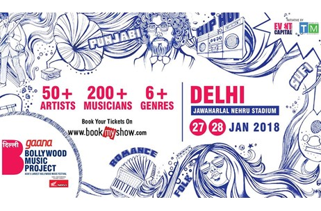 Farhan Live and Vishal Bhardwaj to Headline Gaana Bollywood Music Project in Delhi