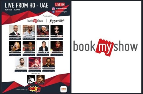 BookMyShow UAE Launches Virtual Initiative 'Live From HQ' Amidst COVID-19 Outbreak!