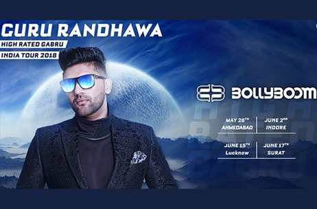 Percept Live Announces The Bollyboom Guru Randhawa India Tour for 9 Cities