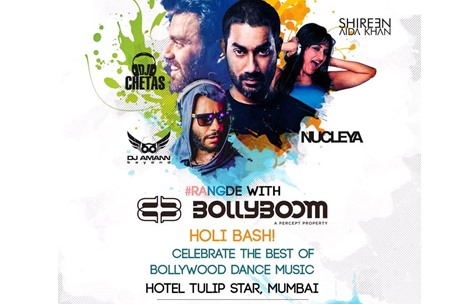 Percept Brings Bollyboom Back with Nucleya and DJ Chetas as Headliners