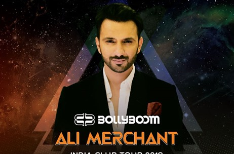 Ali Merchant Associates With Percept LIVE Bollyboom Multi-City India Club Tour