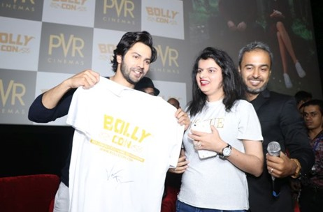BollyCon Organises Special Fan Club Screening of 'October' with Bollywood Star Varun Dhawan