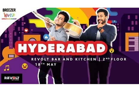 Breezer Announces The Breezer Vivid A+K Tour; First Gig Kicks off in Hyderabad