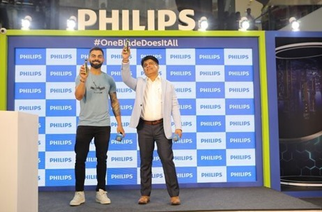 Brandwidth Events Manages the Philips OneBlade Launch with Brand Ambassador Virat Kohli