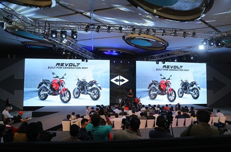 Brandwidth Manages the Launch of Revolt RV 400 – India's First AI Enabled Electric Motorcycle