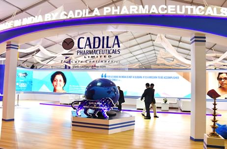 Up On The Stage Manages Cadila's Stall At The Make In India Expo