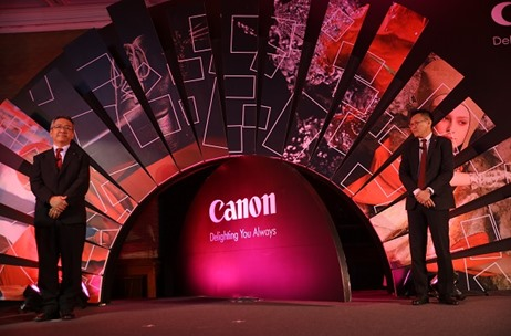 3 Experiential Zones & Stunning Stage Design: CS Direkt Manages Launch of Canon EOS5D Mark 4