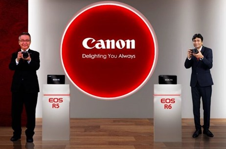 Fountainhead MKTG Executes Virtual Product Launch for Canon India from Two Locations