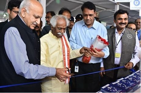 Government of India Promotes Cashless Transactions at Digidhan Mela with Jio Money