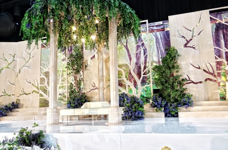 Glimpses from An Enchanted-Garden-Themed Celebration by The Wedding Venue in Al Ain, UAE