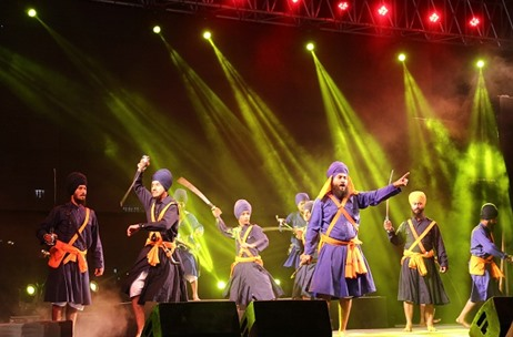 Modern Stage Sets the Stage for Delhi Sikh Gurudwara Management Committee Events