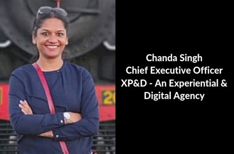 Chanda Singh Begins a New Journey - Launches XP&D - An Experiential & Digital Agency