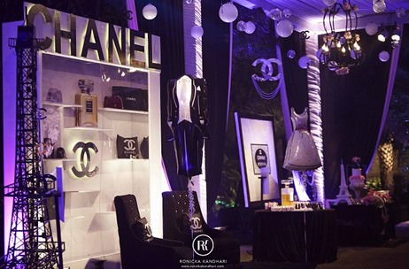 Theme To Steal A Gorgeous Chanel Themed Bridal Shower By Q Events