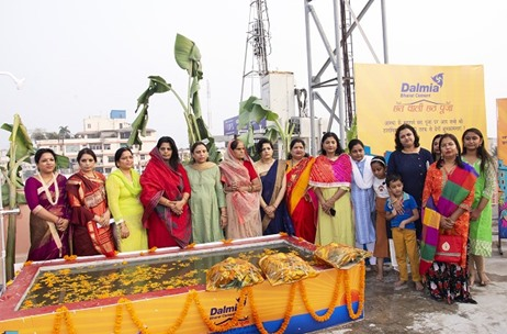 Dalmia Cement Brings River Ganga To The Terrace with 'Chaathwali Chhath Pooja'