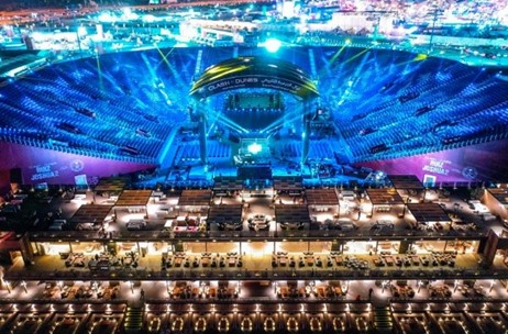 Arena Designed and Delivered 15,000-seat Stadium at Diriyah Arena for 'Clash of The Dunes'