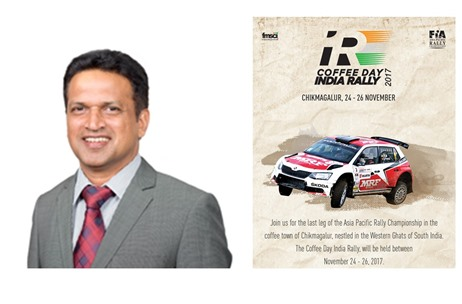 """Aim to Establish Chikmagalur on the Global Motorsporting Map"" - Venkatesh M, Coffee Day India Rally"