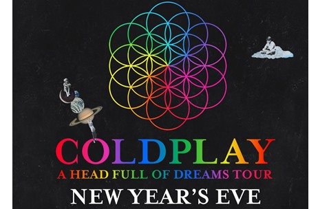 Coldplay to Perform at Sold Out 'A Head Full of Dreams' Live Show Presented by Flash on Yas Island