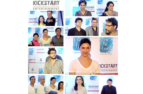 Kickstart Entertainment executes launch of Deepika Padukone's new Foundation