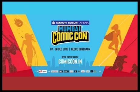 Comic Con Arena 2019 is All Set to Excite Mumbai This December