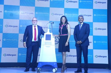 Sushmita Sen Unveils Allergan Coolsculpting at Taj Lands End; Executed by Distinct Communications