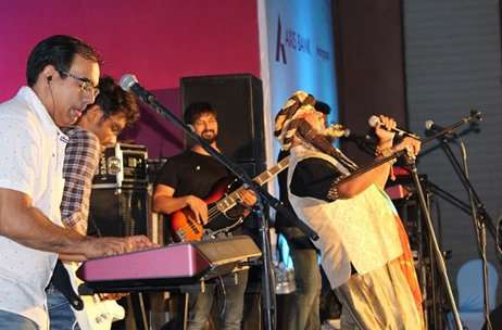 Jasraj Joshi's Fusion Magic at Axis Bank Dealer