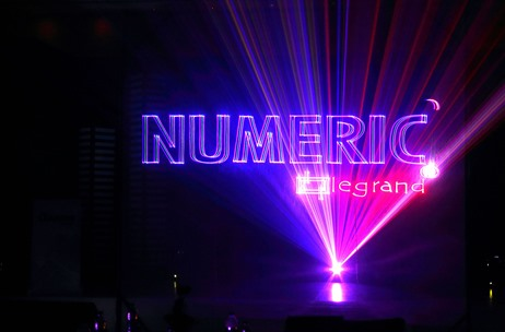 AFP Uses a Laser Storyboard to Reposition Numeric – A Group Brand of Legrand