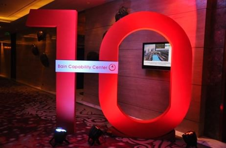 Bain and Company celebrate ten years in India