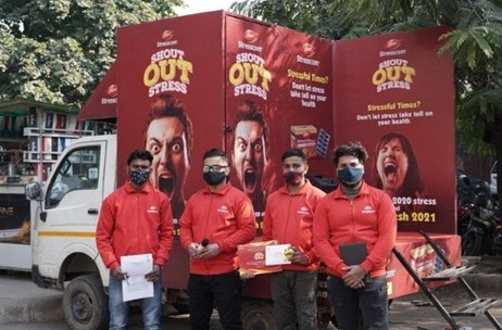 Dabur's 'Shout Out Stress' Activity Aims to Make People Forget Stress of 2020, Start Afresh in 2021