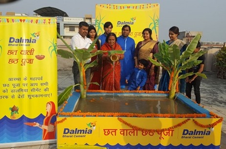Dalmia Cement Links River Ganga to Homes for Chhath Pooja