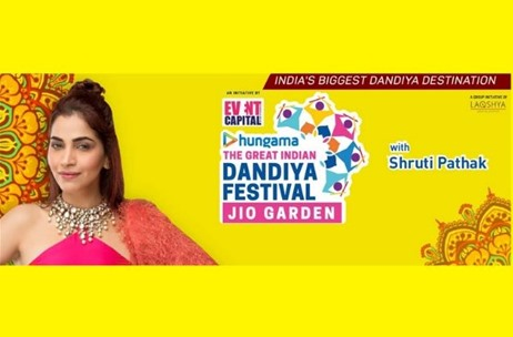 Event Capital & Hungama Announce 'The Great Indian Dandiya Festival'