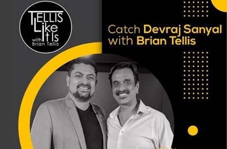Devraj Sanyal, Universal Music Group Shares his Life Story from Then to Now on Tellis Like It Is!