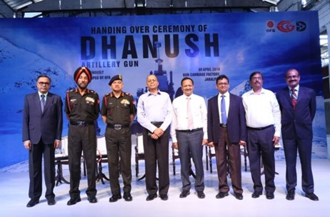 The Proud Moment of the Dhanush Artillery Gun Handover to the Indian Armed Forces