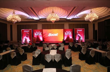 Boost: Dhoni's Dream Team Event Planned and Executed By Brandwidth Events