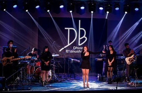 PVR Cinemas Streams its Mumbai Live Concert 'Welcome 2021 with Dhvani Bhanushali' Across 10 Cities