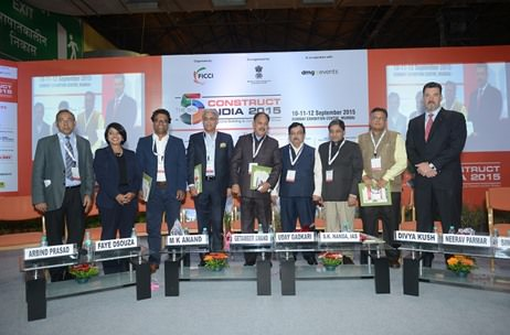 Big 5 Construct India 2015 concludes at Bombay Exhibition Centre