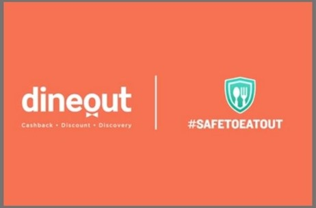 Dineout Launches #SafeToEatOut Campaign and Sees 40% Recovery in Bookings