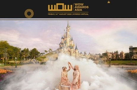 Indian Wedding at Disneyland Paris by Vivaah Weddings Snares Three Golds at WOW Awards 2020