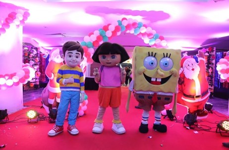 Festivities Galore at the 3rd Edition of Dome Christmas Carnival 2018 in Mumbai