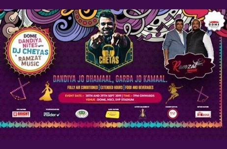 Dome Entertainment Announces Dome Dandiya Nites 2019 in Mumbai