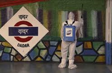 Team Domex Embarks on Month-long Disinfection Drive at Five Local Train Stations in Mumbai