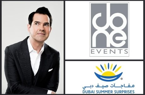 Jimmy Carr to Headline DXBLaughs at Dubai Summer Surprises Fest