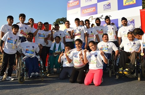 JK Cement's CSR Initiative SwachhAbility Run Concludes with over 12000 Participants