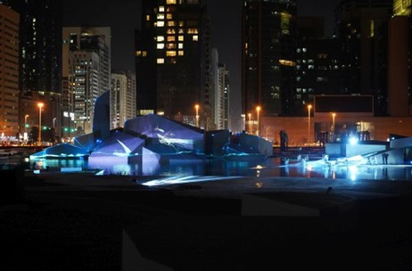 Creative Technology Deliver's 9750 sqm of Projection at Qasr Al Hosn