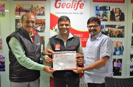Geolife Foundation Organizes 94 Blood Donation Camps across the Nation on a Single Day