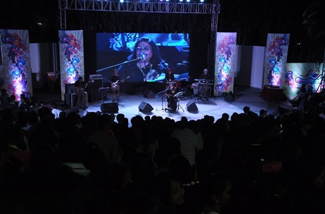 BrandAid Events Gets Usha Uthup to Wow Over 3000 Infosys BPO Employees