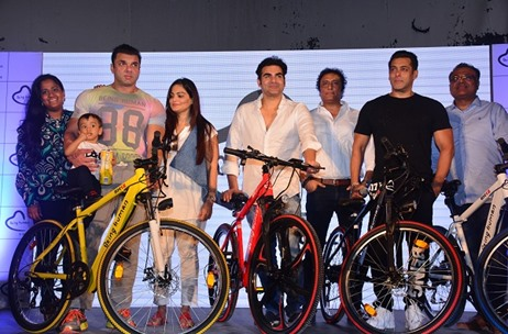 Salman Khan Launches Being Human E-Cycles on World Environment Day