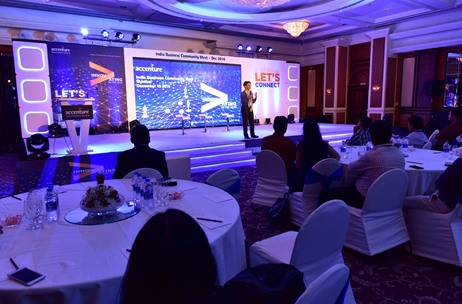 Esquare Events Provides a 'Digital Experience' at Accenture India Business Meet