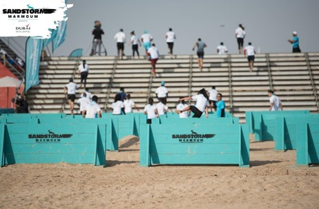 Spectacular Inaugural Edition of the Sandstorm DXB Obstacle Course Race Sees 2800 Participants