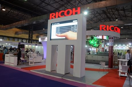 Ricoh India's Display @ 2015 Pamex Exhibition in Mumbai; Presented by Vibgyor